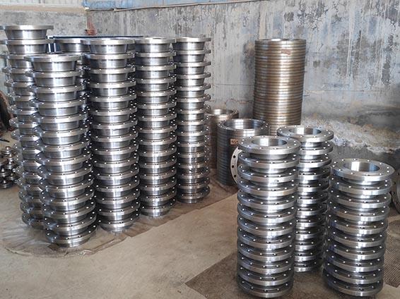 美标碳钢锻造高压法兰管件