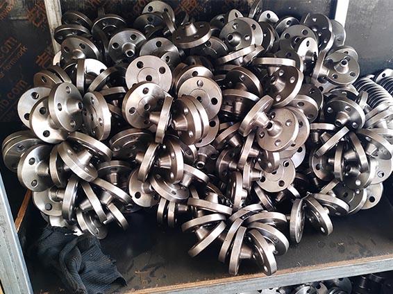 小口径带颈对焊法兰管件