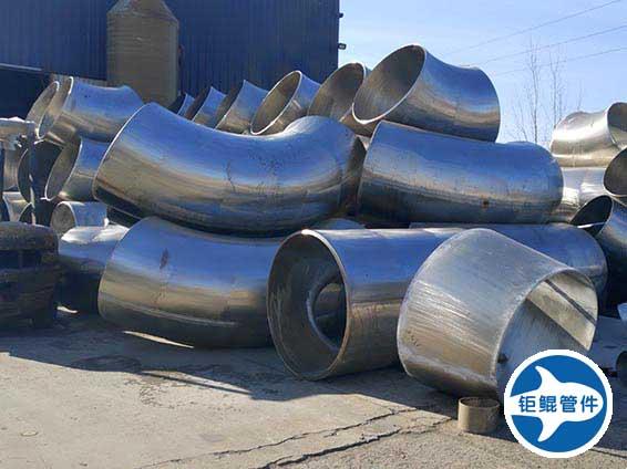 大口径对焊焊接不锈钢法兰管件