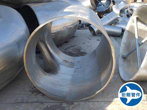 大口径异径不锈钢三通管件