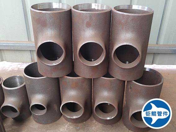 小口径美标变径碳钢三通管件