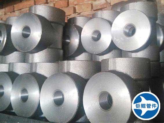 碳钢超高压承插焊三通管件
