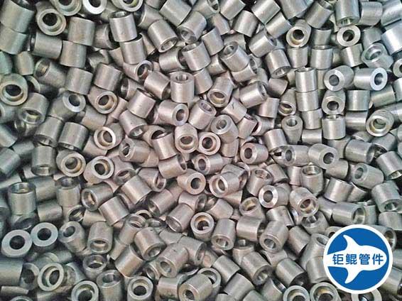 单承口管箍碳钢承插管件