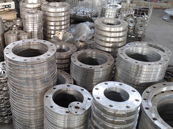 大口径不锈钢板式平焊法兰管件