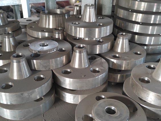 小口径带颈对焊不锈钢法兰管件