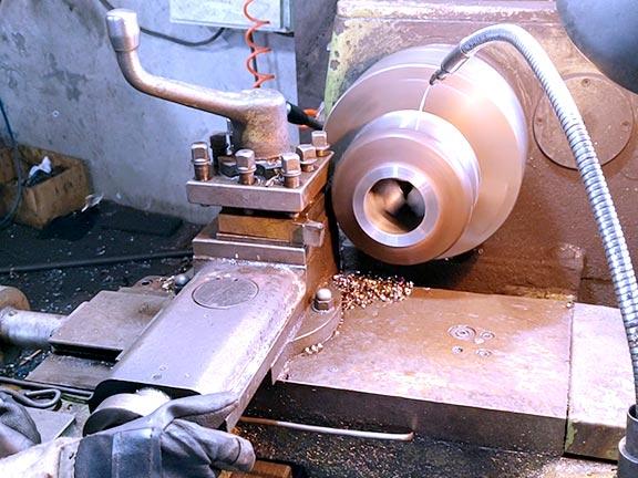 锻制管件生产机加工