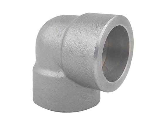 国标高压不锈钢锻制90度承插焊弯头