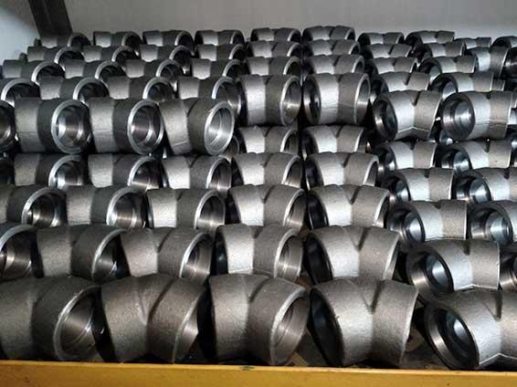 碳钢20号钢锻制45度承插弯头