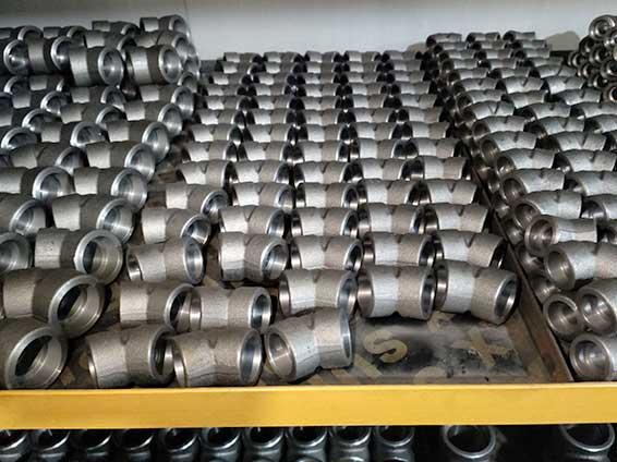 碳钢A105美标高压45度承插焊弯头