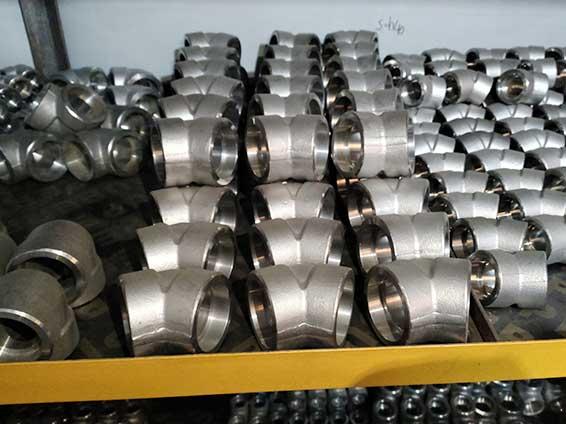 不锈钢S30408国标45度承插焊弯头