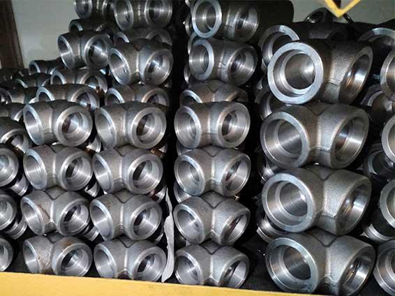 国标碳钢锻制高压90度承插焊弯头