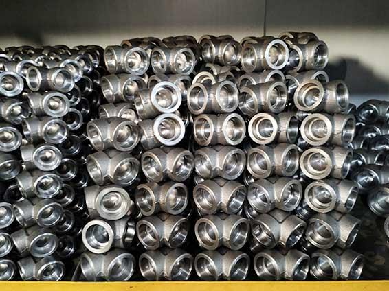 3000LB碳钢双承口承插焊90度弯头